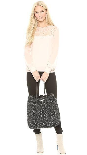 Nina Ricci Tweed Tote