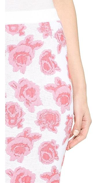 Nina Ricci Floral Skirt