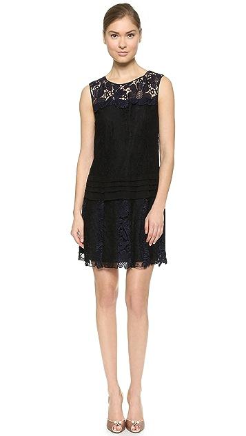 Nina Ricci Lace Layer Dress