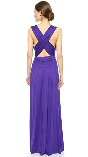 Nina Ricci Вечернее платье без рукавов