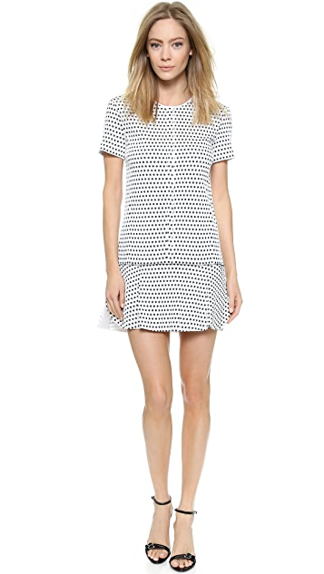 ff8f21f5e6 Nina Ricci Short Sleeve Dress