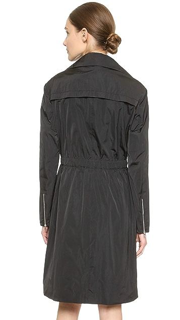 Nina Ricci Taffeta Trench Coat