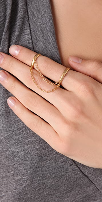 Nissa Jewelry Twins Ring