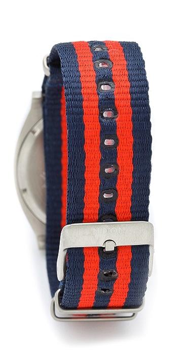 Nixon The Time Teller Navy Watch