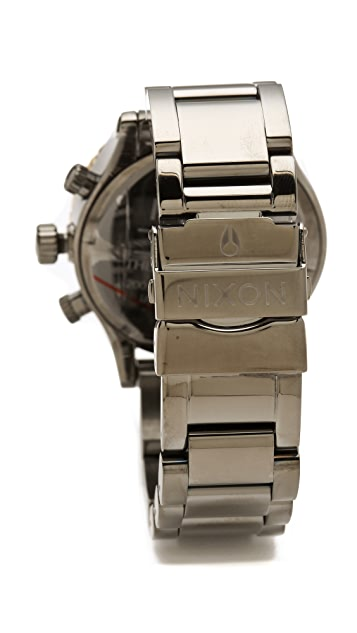 Nixon The Hudson St. 42-20 Chrono Watch
