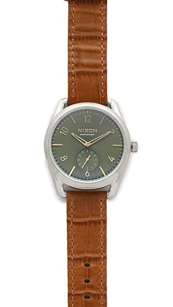 Nixon The C39 Leather Watch