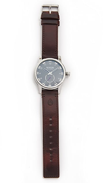 Nixon The Patriot Leather Watch
