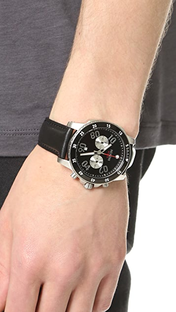 Nixon The Ranger Chrono Leather Watch