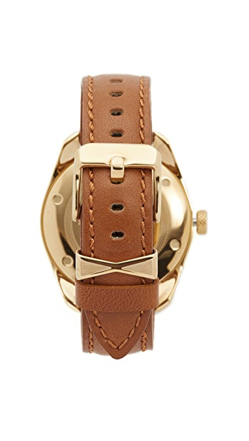 Nixon Bullet Leather Watch