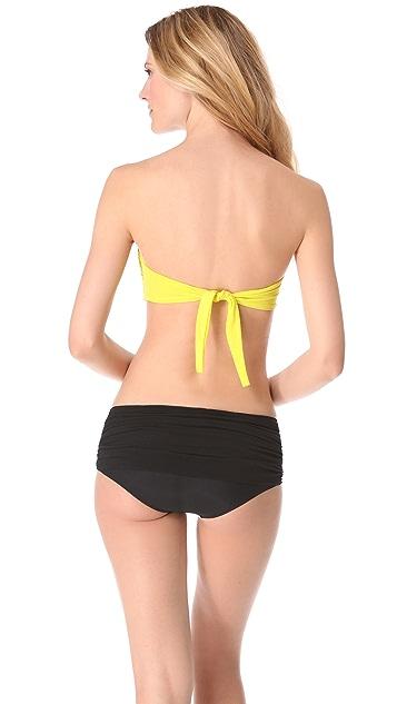 Norma Kamali Johnny D Bandeau Bikini Top