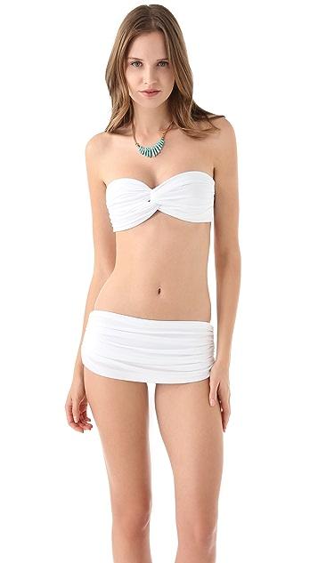 Norma Kamali Johnny D Bikini Top