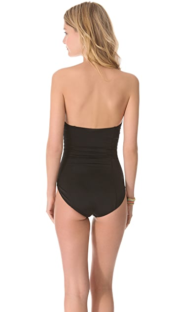 Norma Kamali Corset Mio One Piece Swimsuit