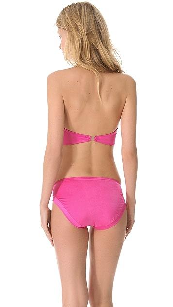 Norma Kamali Corset Bikini Top