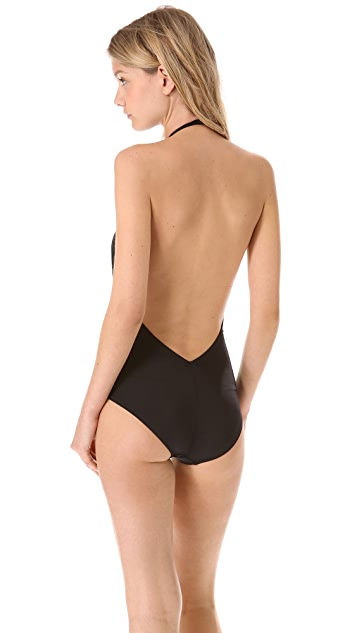 Norma Kamali Mio One Piece Swimsuit