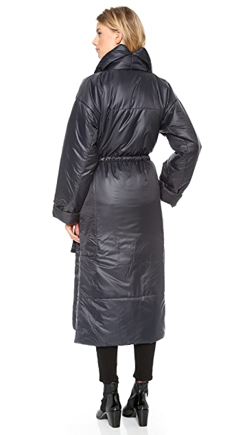 Norma Kamali Long Narrow Coat