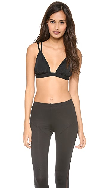 Norma Kamali Double Strap Sports Bra