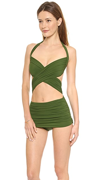 Norma Kamali XO Bill Mio Swimsuit