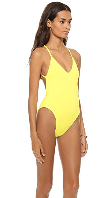 Norma Kamali NK Collection One Piece Swimsuit