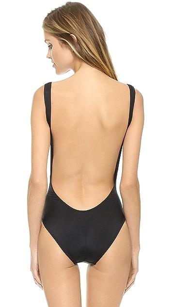 Kamalikulture Super Low Back One Piece Swimsuit