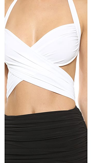 Norma Kamali XO Bill Mio Combo Swimsuit