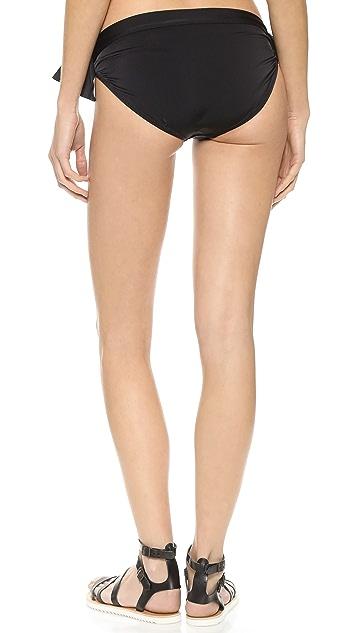 Norma Kamali Eric Tie Side Bikini Bottoms