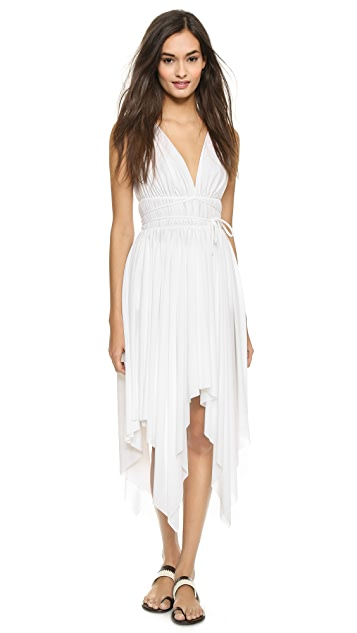 e71669d180bca Norma Kamali Goddess Asymmetrical Swim Dress | SHOPBOP