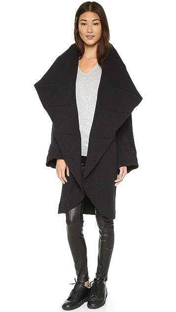 Norma Kamali Shawl Collar Coat