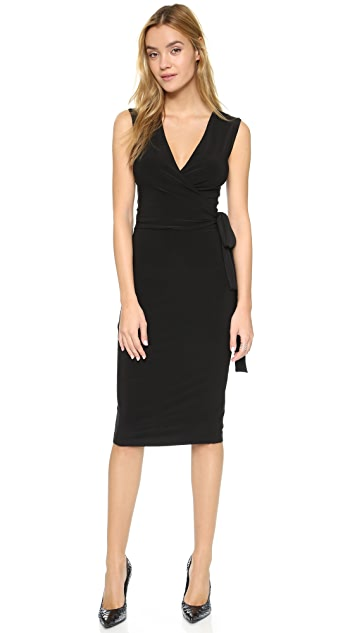 Norma Kamali Kamali Kulture Wrap Dress