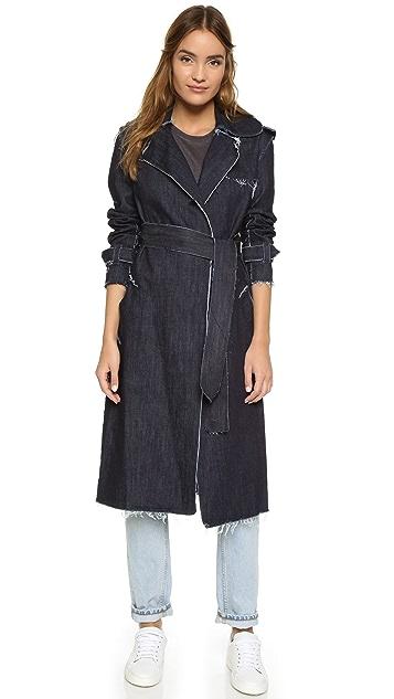 Norma Kamali Trench Coat
