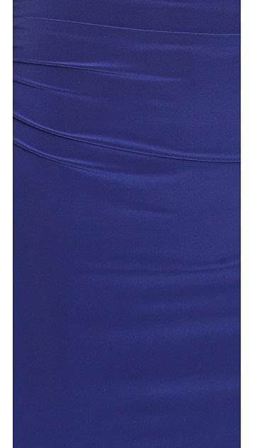 Norma Kamali Kamali Kulture Shirred Waist Dress To Knee