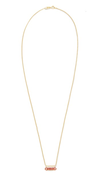 Nora Kogan Babe Necklace with Diamonds