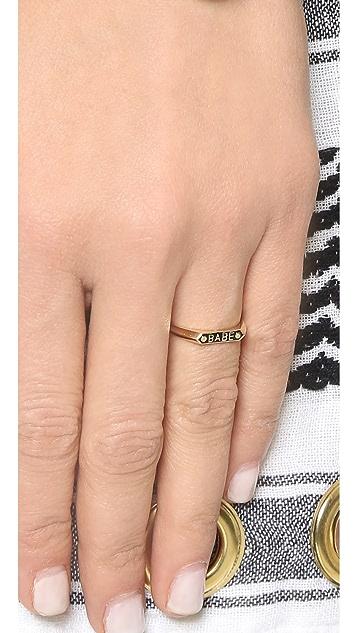 Nora Kogan Babe Signet Ring