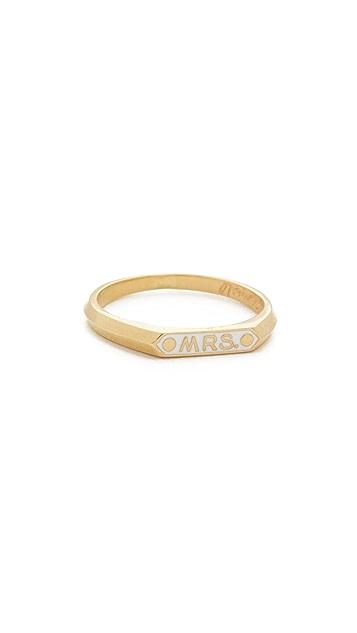 Nora Kogan Mrs Signet Ring