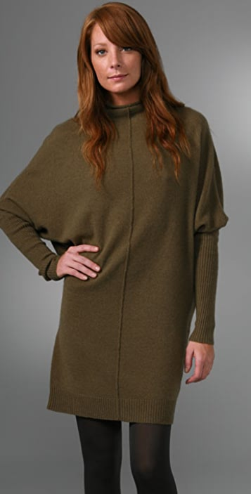 Nili Lotan Triangle Sweater Dress