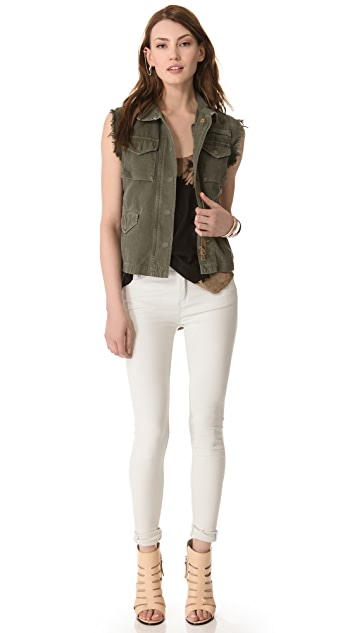 Nili Lotan Fitted Vest