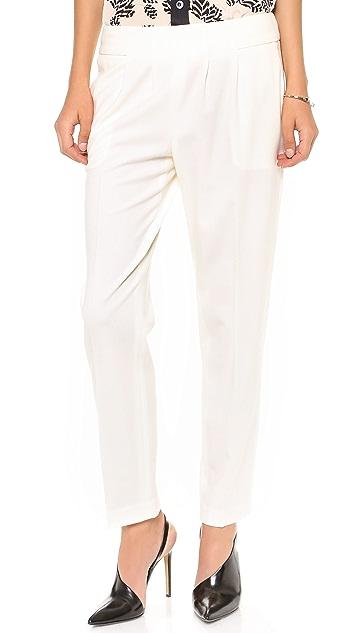 Nili Lotan Zipper Back Trousers