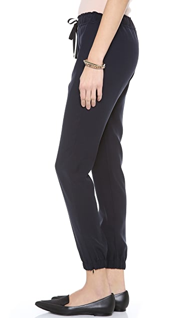Nili Lotan Silk Sweatpants