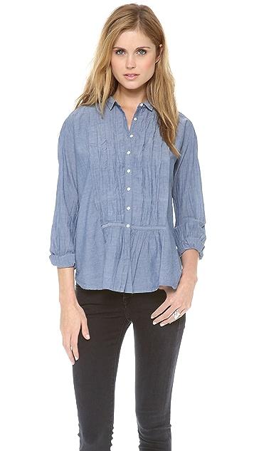 Nili Lotan Dorian Tuxedo Shirt