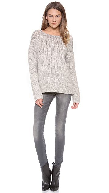 Nili Lotan 18-8 Hand Knit Oversized Sweater