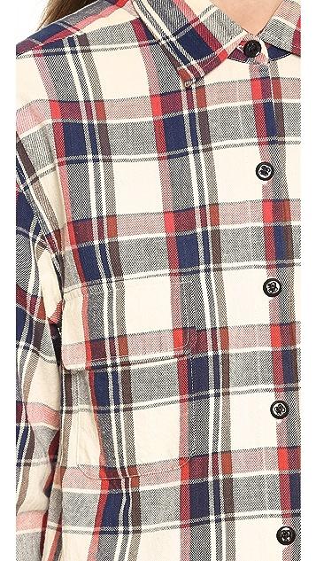 Nili Lotan Worker Button Down Shirt