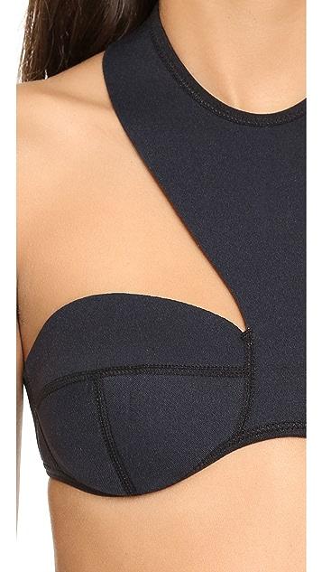 N.L.P High Neck Bandeau Bikini Top