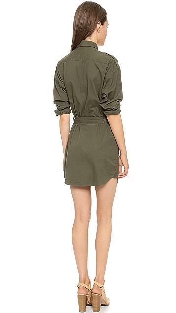 NLST Belted Surplus Dress