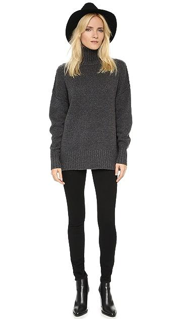 NLST Oversized Turtleneck Sweater