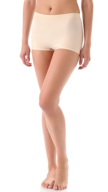 Nearly Nude Thinvisible Smoothing Cotton Boy Shorts