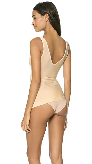 Nearly Nude Thinvisible Firming Camisole with Lace