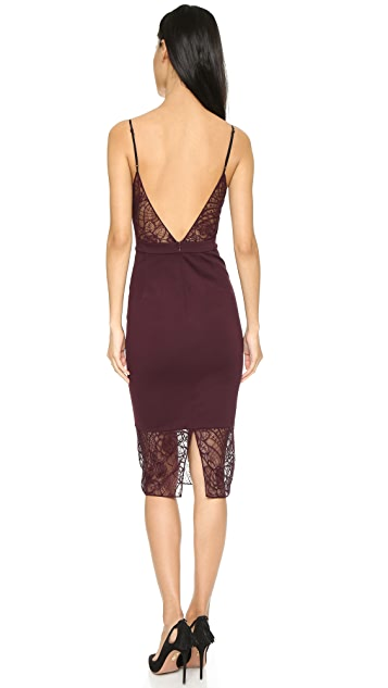 Noam Hanoch Shiraz Dress with Ombre Lace