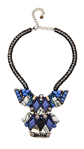 Nocturne Rafia Necklace