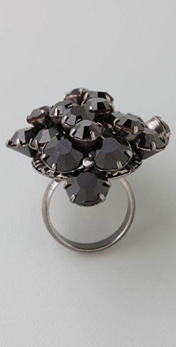 Noir Jewelry Cosmic Cluster Ring