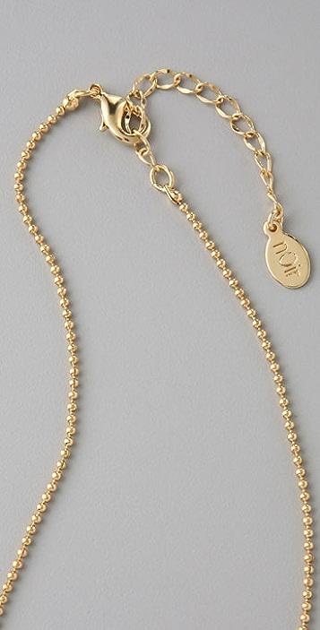 Noir Jewelry Dagger Necklace