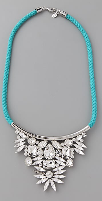 Noir Jewelry Neon Crystal Necklace